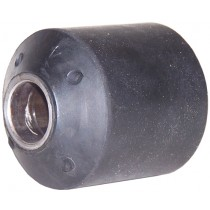 """3/4"""" I.D. x 2"""" O.D. x 2 1/2"""" Long - Rubber and Steel - Dexter® Spring Bushing 014-112-00"""