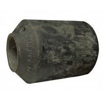 """1"""" I.D.  x 2"""" O.D. x 3 1/8"""" Long - Rubber and Steel - Dexter® Spring Bushing 014-069-00"""