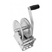 """Fulton 1,300 lbs. Single Speed Hand Winch Without Strap - 8"""" Handle"""