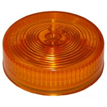 "2 1/2"" Round - Amber - Marker Light - Recessed"