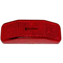 "1-1/4"" x 4"" - Red - Marker Light"