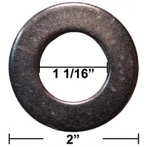 "1 1/16"" x 2"" Flat Washer - Sold Individually"