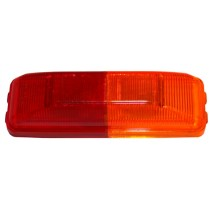 "1 1/4"" x 3 3/4"" - Red/Amber - Fender Marker Light"
