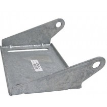 "Galvanized Roller Bracket for 12"" Roller"