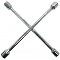 "Cross Lug Wrench, Fits Trailer Wheel Lugs Nuts 19mm, 3/4"", 13/16"", 7/8"""