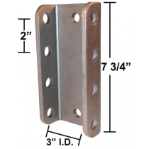 Pintle Eye Assembly - With 4 Hole Channel