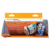 Highland Vehicle Cleanliness Caddy - Orange Car Organizer