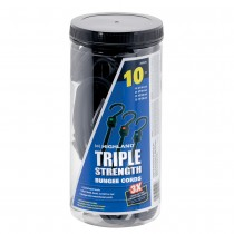 Triple Strength Bungee Cord Assortment (10 piece)