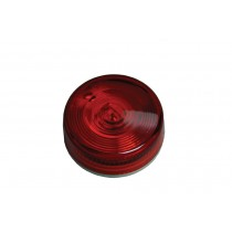 "Clearance Light 2-3/4"" Round Red Round w/Two Wire Construction"