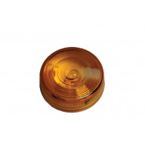 "Clearance Light 2-3/4"" Round Amber Round w/Two Wire Construction"