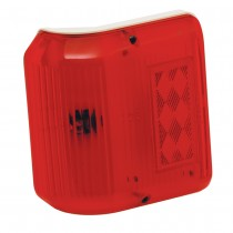Clearance Light #86 Wrap-Around Red w/Colonial White Base