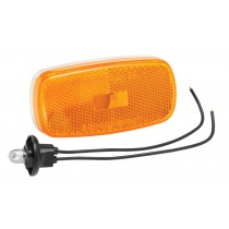 Clearance Light #59 Amber with Reflex w/White Base