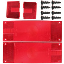 Lens Kit - 2 Rear  2 Side - Fits 3026-76 - Screws Included