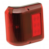 Clearance Light #86 Wrap-Around Red w/Black Base
