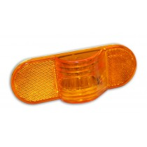 "6"" Oval Mid-Turn Amber Light"