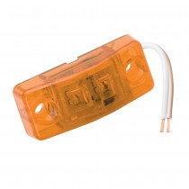 Clearance Light LED Waterproof  Amber Lens w/Diodes