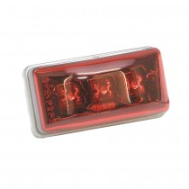 Clearance Light LED #99 Red w/Type 302 Stainless Steel Hardware