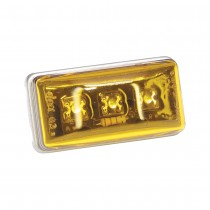 Clearance Light LED #99 Amber w/Type 302 Stainless Steel Hardware