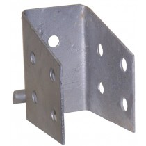 "Crossmember Clip for 3"" Side Rail with 4 Holes"