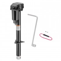 """Pro Series™ 2,500 lbs Powered Round A-Frame Jack - 18"""" Travel"""