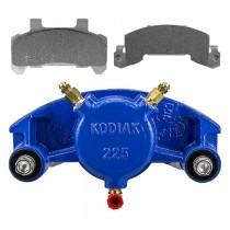 Kodiak Caliper 225 with Pads & Slider Pins - Fits 3,500 to 6,000 lbs. Axles - KodaGuard Plated