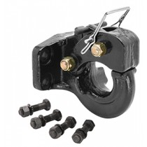 5 Ton, 2,000 lbs. Max vertical load Pintle Hook, 10,000 lbs. GTW, Mounting Hardware Included
