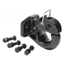 10 Ton, 4,000 lbs. Max vertical load Pintle Hook, 20,000 lbs. GTW, Mounting Hardware Included