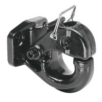 15 Ton, 6,000 lbs. Max vertical load Pintle Hook, 30,000 lbs. GTW, Mounting Hardware Included