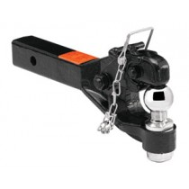 "Receiver Mounted 5 Ton Pintle Hook for 2"" Receivers"