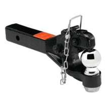 "Receiver Mounted Pintle Hook Combination 2 5/16"" Ball"
