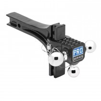 Adjustable Tri-Ball Ball Mount System with Step, 2