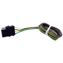 """48"""" Wire Harness - 4-Way Flat Connector - Car End"""