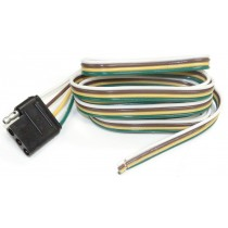"""60"""" Wire Harness - 4-Way Flat Connector - Car End"""