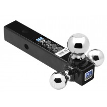 Pro Series Tri-Ball Mount, Hollow Shank with Chrome Balls - up to 10,000 lbs. GTW