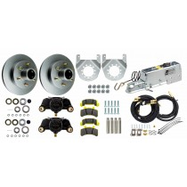 "Tie Down Engineering 12"" Single Axle Disc Brake Kit - 6 on 5 1/2"" - Galv-X Coated Rotors"