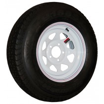 "205/75D14, Painted, 1,760 lb. Capacity, 5 on 4 1/2"", ""C"" Load Rating"