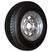"205/75D14, Galvanized, 1,760 lb. Capacity, 5 on 4 1/2"", ""C"" Load Rating"