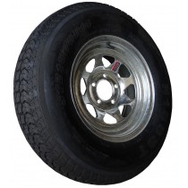 "215/75D14, Galvanized, 1,870 lb. Capacity, 5 on 4 1/2"", ""C"" Load Rating"