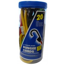 Bungee Cord Assortment - 20 Pieces