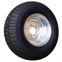 "215/60-8 Bias, Galvanized, 940 lb. Capacity, 4 on 4"", ""C"" Load Rating"