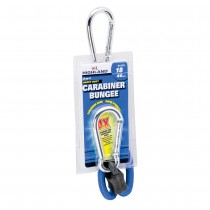 "Carabiner Bungee Cord - 18"" Blue"