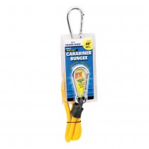 "Carabiner Bungee Cord - 40"" Yellow"