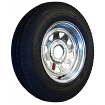 "530-12 Bias, Galvanized, 1,045 lb. Capacity, 4 on 4"", ""C"" Load Rating"