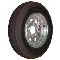"530-12 Bias, Galvanized, 1,045 lb. Capacity, 5 on 4 1/2"", ""C"" Load Rating"