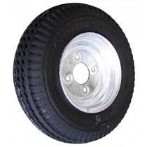 "570-8 Bias, Galvanized, 910 lb. Capacity, 4 on 4"", ""C"" Load Range"