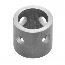 "1 7/8"" x 2"" Replacement Mounting Tube with 9/16"" Holes"