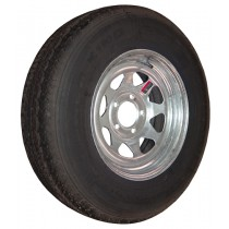 "205/75R14, Galvanized, 1,760 lb. Capacity, 5 on 4 1/2"", ""C"" Load Rating"