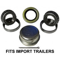 25mm x 25mm Bearing Kit with 30205 Bearings/Races