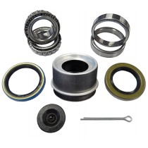 "1 1/16"" x 1 1/16"" Bearing Kit with L44649 Bearings, GS2, and GS9 Grease Seals, and Lube Dust Cap"