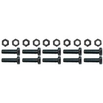 """(10) 3/8"""" Bolts and Nuts for (2) 12"""" x 2"""" Electric or Hydraulic Brakes - For Axles with No Bolts Attached"""